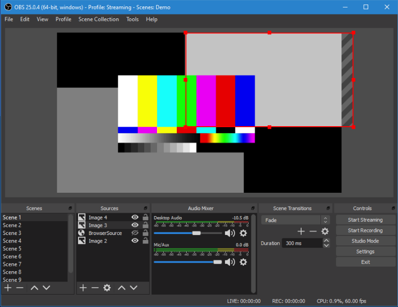 free screen recorder without watermark - OBS studio
